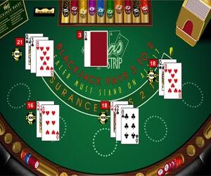 Multi Hand Blackjack Image