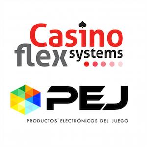 CasinoFlex y PEJ nuevo acuerdo