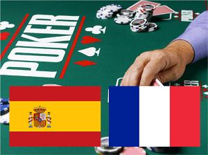 España y Francia se disponen a compartir mesas de poker